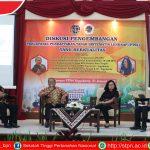 Diskusi Dan Membahas Pengembangan Percepatan Pendaftaran Tanah Sistematis Lengkap (PTSL) Yang Berkualitas